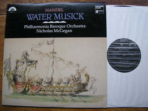 HANDEL: WATER MUSIC   McGEGAN / PHILHARMONIA BAROQUE   HM 7010