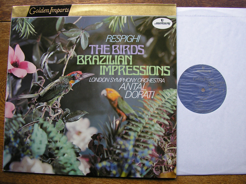 RESPIGHI: THE BIRDS / BRAZILIAN IMPRESSIONS   DORATI / LONDON SYMPHONY  SRI 75023