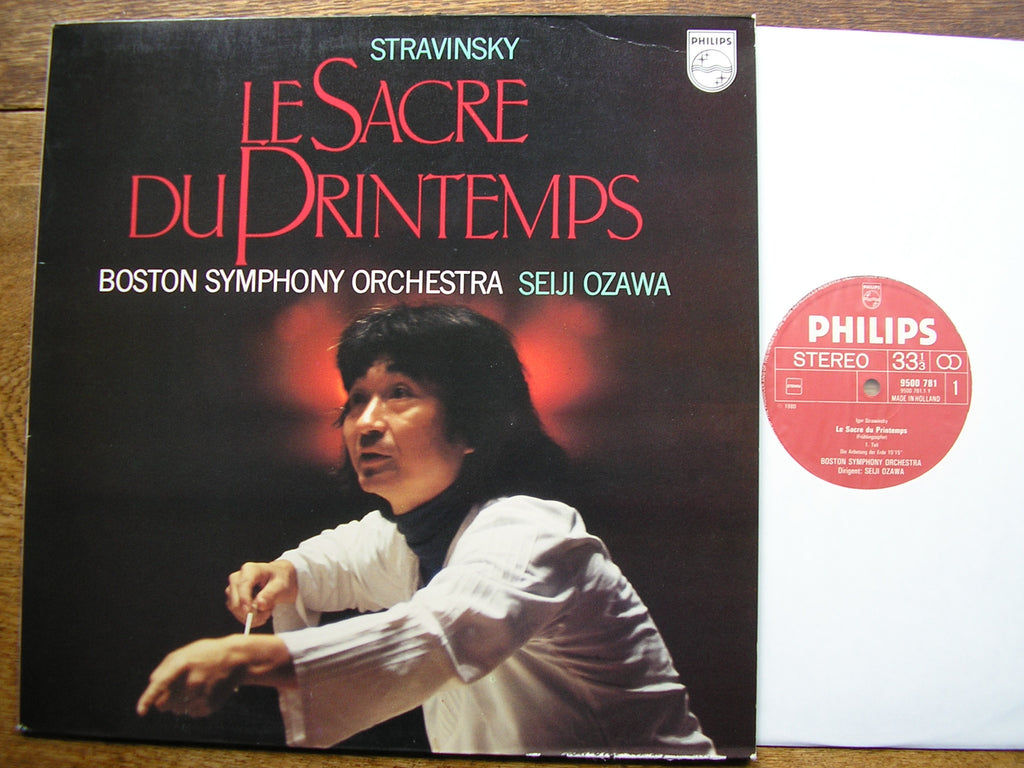 STRAVINSKY: THE RITE OF SPRING  OZAWA / BOSTON SYMPHONY  9500 781