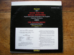 HANDEL: ROYAL FIREWORKS MUSIC / THE WATER MUSIC  SOMARY / ENGLISH CHAMBER ORCHESTRA  VSQ 30020