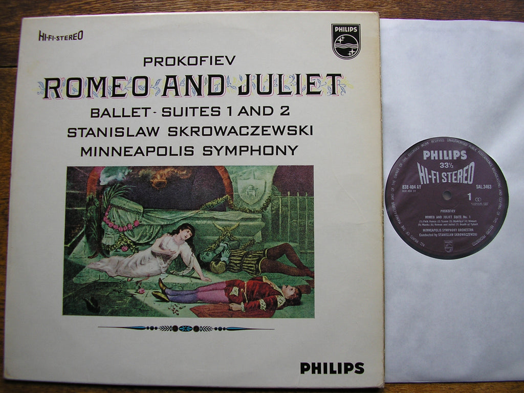 PROKOFIEV: ROMEO & JULIET BALLET SUITES Nos. 1 & 2 STANISLAW SKROWACZEWSKI / MINNEAPOLIS SO SAL 3463