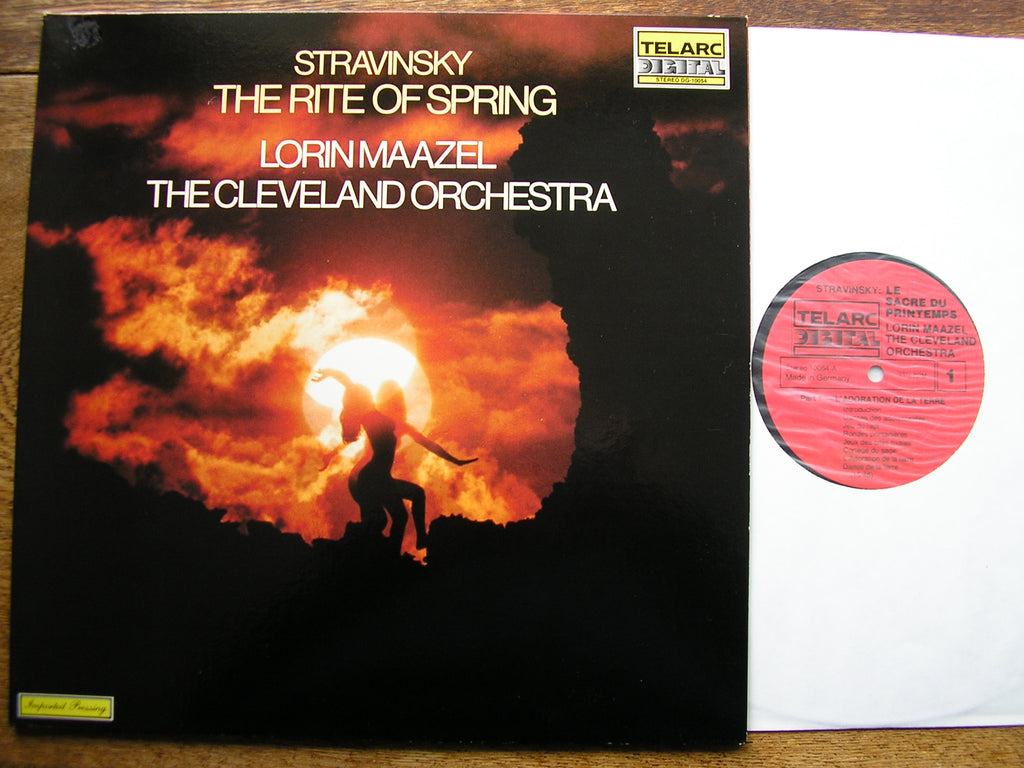 STRAVINSKY: THE RITE OF SPRING  MAAZEL / CLEVELAND ORCHESTRA  DG-10054