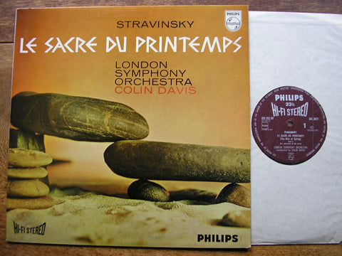 STRAVINSKY: THE RITE OF SPRING  DAVIS / LONDON SYMPHONY  SAL 3471