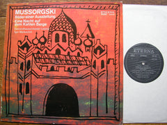 MUSSORGSKY: PICTURES / NIGHT ON BARE MOUNTAIN   MARKEVITCH / LEIPZIG GO   8 26 449