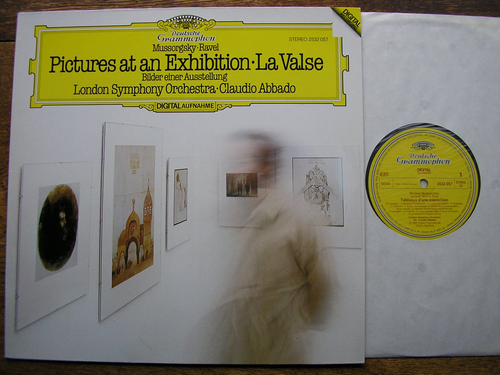 MUSSORGSKY: PICTURES AT AN EXHIBITION / RAVEL: LA VALSE    ABBADO / LONDON SYMPHONY  2532 057