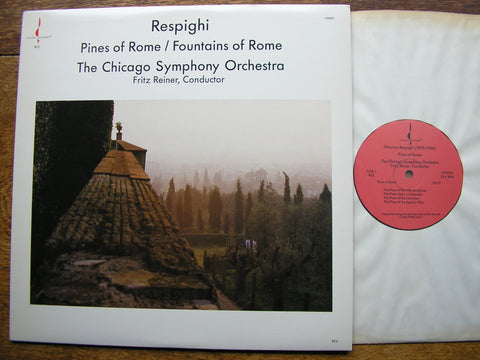 RESPIGHI: PINES OF ROME / FOUNTAINS OF ROME  REINER / CHICAGO SYMPHONY  CHESKY RC5