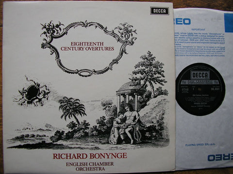 18th CENTURY OVERTURES RICHARD BONYNGE / ENGLISH CHAMBER ORCHESTRA SXL 6531