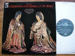 MUSIC FOR FERDINAND & ISABELLA   THE EARLY MUSIC CONSORT OF LONDON / MUNROW    CSD 3738