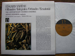 VARESE: OFFRANDES / INTEGRALES / OCTANDRE  SOLOISTS / CCE / WEISBERG  H 71269