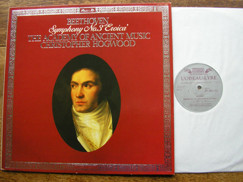BEETHOVEN: SYMPHONY No. 3 'Eroica'     HOGWOOD / ACADEMY OF ANCIENT MUSIC    417 235