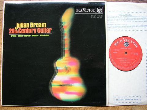 20th CENTURY GUITAR: BRITTEN / MARTIN / HENZE / VILLA-LOBOS / BRINDLE JULIAN BREAM SB 6723