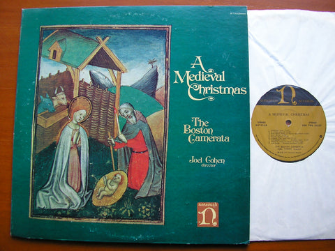 A MEDIEVAL CHRISTMAS   JOEL COHEN / THE BOSTON CAMERATA    H71315