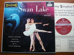 TCHAIKOVSKY: SWAN LAKE Highlights     ANSERMET / SUISSE ROMANDE    CS 6127