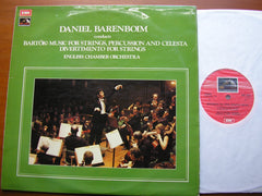 BARTOK: MUSIC FOR STRINGS, PERCUSSION & CELESTA DANIEL BARENBOIM / ENGLISH CHAMBER ORCHESTRA ASD 2670