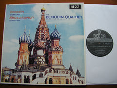 SHOSTAKOVICH: STRING QUARTET No. 8 / BORODIN: QUARTET No. 2    THE BORODIN QUARTET    SXL 6036