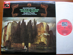 RACHMANINOV: ISLE OF THE DEAD / SYMPHONIC DANCES ANDRE PREVIN / LONDON SYMPHONY ORCHESTRA ASD 3259