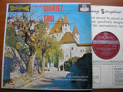 MOZART: QUINTET K452 / TRIO K498   PANNHOFER / MEMBERS OF VIENNA OCTET   CS 6109