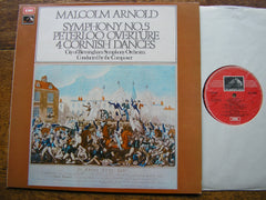 ARNOLD: SYMPHONY No. 5 / PETERLOO OVERTURE   ARNOLD / CBSO   ASD 2878