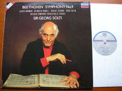 BEETHOVEN: SYMPHONY No. 9   SOLOISTS / CHICAGO SYMPHONY / SOLTI   417 800
