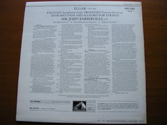 ELGAR: FALSTAFF / FROISSART / INTRODUCTION & ALLEGRO    BARBIROLLI / HALLE / NEW PHILHARMONIA    ASD 2762