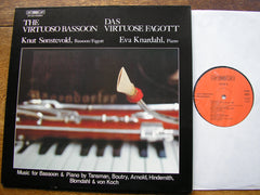 THE VIRTUOSO BASSOON: 20th CENTURY MUSIC FOR BASSOON   SONSTEVOLD / KNARDAHL   BIS LP 122