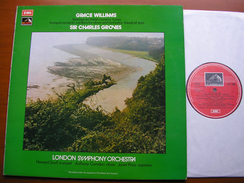 GRACE WILLIAMS: ORCHESTRAL WORKS   SOLOISTS / LONDON SYMPHONY / GROVES    ASD 3006