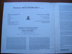 MOUSSORGSKY: PICTURES AT AN EXHIBITION / NIGHT ON BARE MOUNTAIN    LOMBARD / STRASBOURG PHILHARMONIC    STU 71016