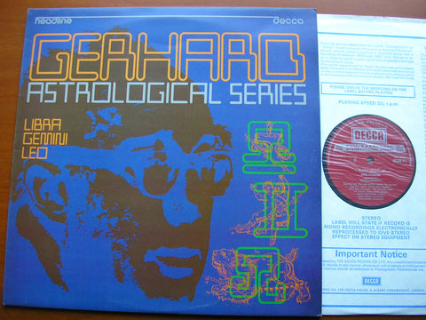 GERHARD: ASTROLOGICAL SERIES Libra / Gemini / Leo   SOLOISTS / ATHERTON / LONDON SINFONIETTA   HEAD 11