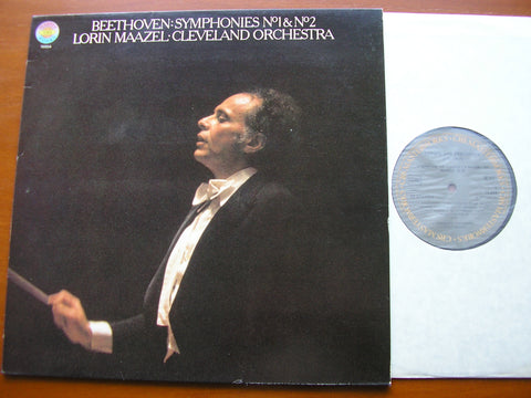 BEETHOVEN: SYMPHONIES Nos. 1 & 2    MAAZEL / CLEVELAND ORCHESTRA    76854