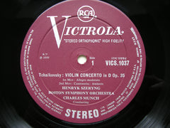 TCHAIKOVSKY: VIOLIN CONCERTO / TARTINI: SONATA in G 'The Devil's Trill'    SZERYNG / BOSTON SYMPHONY / MUNCH     VICS 1037