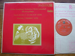STRAVINSKY: THE FIREBIRD Suite / RIMSKY - KORSAKOV: 'LE COQ D'OR' Suite   LEINSDORF / BOSTON SYMPHONY  SB 6617