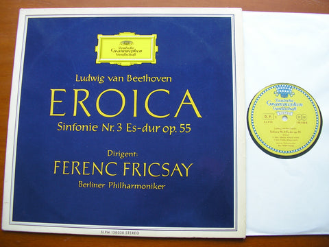 BEETHOVEN: SYMPHONY No. 3 'Eroica'    FRICSAY / BERLIN PHILHARMONIC    138 038