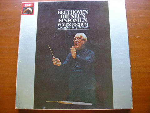 BEETHOVEN: THE NINE SYMPHONIES / FOUR OVERTURES   JOCHUM / LONDON SYMPHONY  SLS 5178
