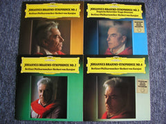 BRAHMS: THE FOUR SYMPHONIES   KARAJAN / BERLIN PHILHARMONIC   2531 131 - 134