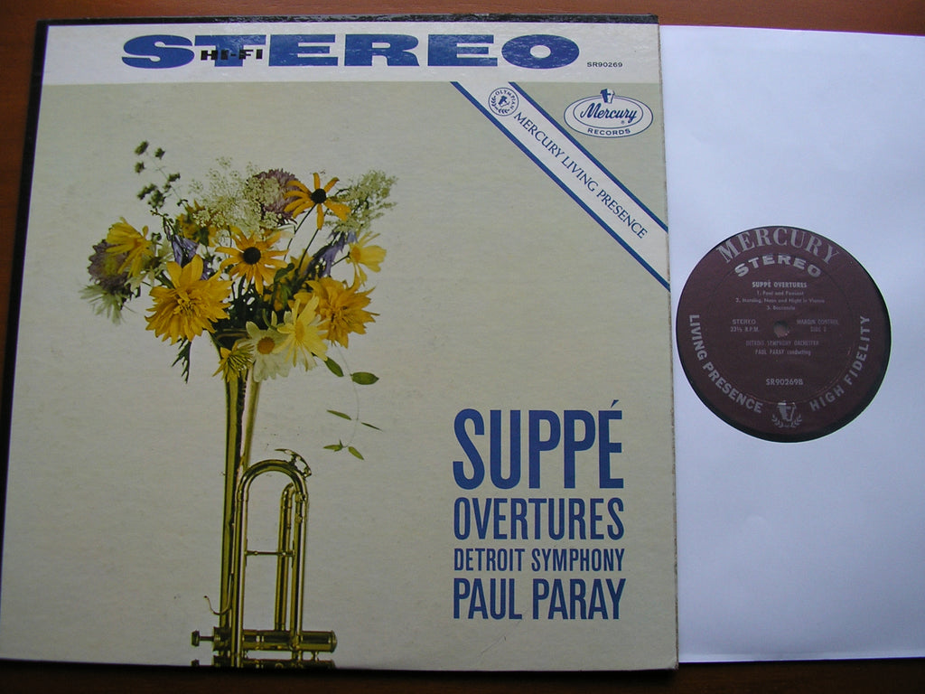 SUPPE: OVERTURES   PAUL PARAY / DETROIT SYMPHONY   SR 90269