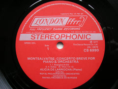 CONCERTOS FROM SPAIN BY MONTSALVAGE & SURINACH   ALICIA DE LARROCHA / ROYAL PHILHARMONIC / FRUHBECK DE BURGOS   CS 6990