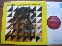 CAGE: SONATAS & INTERLUDES FOR PREPARED PIANO   JOHN TILBURY   HEAD 9
