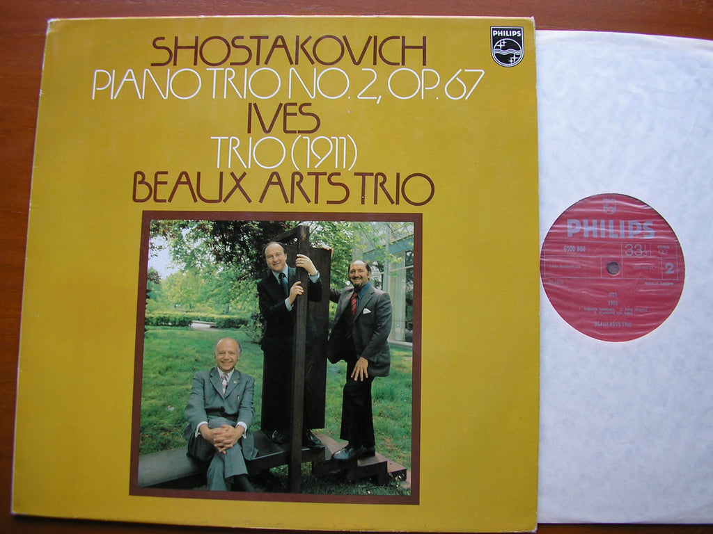 SHOSTAKOVICH: PIANO TRIO No. 2 / IVES: PIANO TRIO     BEAUX ARTS TRIO    6500 860