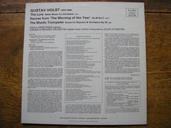 HOLST: THE LURE / THE MYSTIC TRUMPETER / DANCES   ARMSTRONG / LONDON SYMPHONY / ATHERTON   SRCS 128