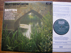 BRITTEN: FRANK BRIDGE VARIATIONS / BUTTERWORTH: A SHROPSHIRE LAD / TWO ENGLISH IDYLLS   MARRINER / ASMIF   ZRG 860
