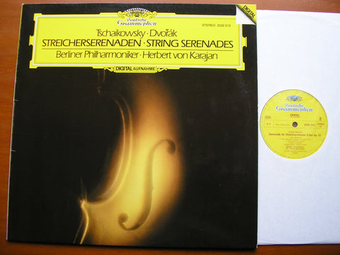 TCHAIKOVSKY & DVORAK: SERENADES FOR STRINGS     KARAJAN / BERLIN PHILHARMONIC   2532 012
