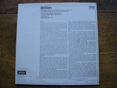 BRITTEN: SERENADE / YOUNG PERSON'S GUIDE   PEARS / TUCKWELL / LONDON SYMPHONY / BRITTEN    SXL 6111
