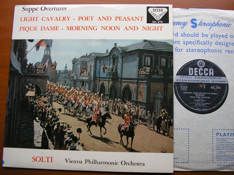 SUPPE: OVERTURES     SOLTI / VIENNA PHILHARMONIC   SXL 2174