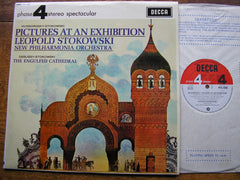 MUSSORGSKY: PICTURES AT AN EXHIBITION   STOKOWSKI /NEW PHILHARMONIA    PFS 4095