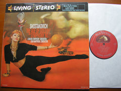 SHOSTAKOVICH: SYMPHONY No. 1 / THE AGE OF GOLD    MARTINON / LONDON SYMPHONY    LSC 2322