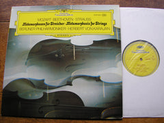 BEETHOVEN: GROSSE FUGUE / STRAUSS: METAMORPHOSEN / MOZART: ADAGIO & FUGUE K546    KARAJAN / BERLIN PHILHARMONIC  2530 066