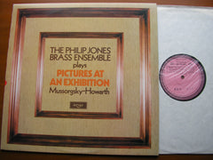 MUSSORGSKY-HOWARTH: PICTURES AT AN EXHIBITION  PHILIP JONES BRASS   ZRG 885