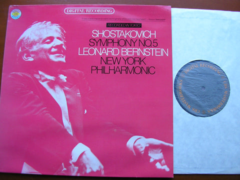 SHOSTAKOVICH: SYMPHONY No. 5   BERNSTEIN / NEW YORK PHILHARMONIC   35854