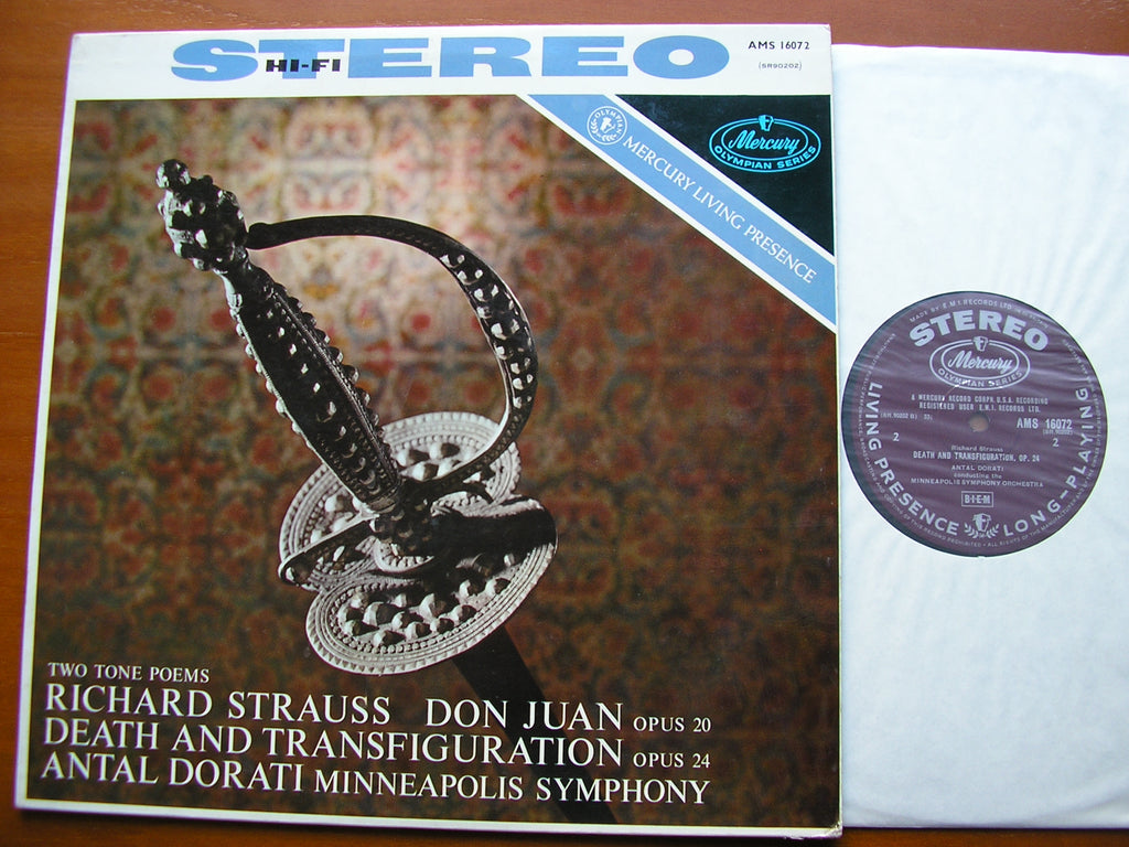 STRAUSS: DON JUAN / DEATH & TRANSFIGURATION    DORATI / MINNEAPOLIS SYMPHONY   AMS 16072