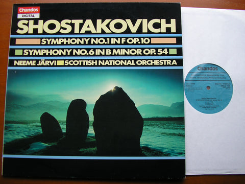 SHOSTAKOVICH: SYMPHONIES Nos.1 & 6   NEEME JARVI / SCOTTISH NATIONAL ORCHESTRA  ABRD 1148